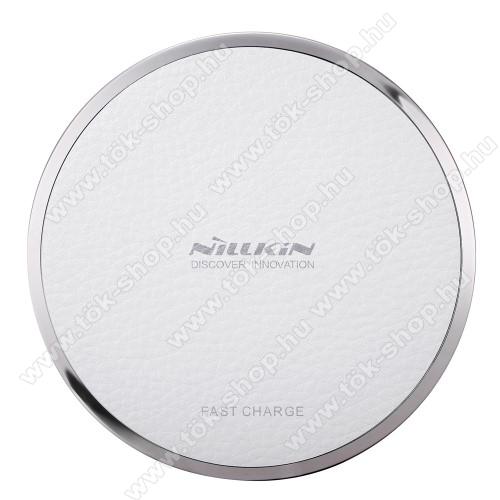 NILLKIN Magic Disk III - QI Univerzális vezeték nélküli töltő - 5V / 2A, 9V / 1.7A  - FEHÉR