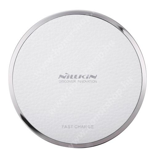HUAWEI Honor 3C Play NILLKIN Magic Disk III - QI Univerzális vezeték nélküli töltő - 5V / 2A, 9V / 1.7A  - FEHÉR