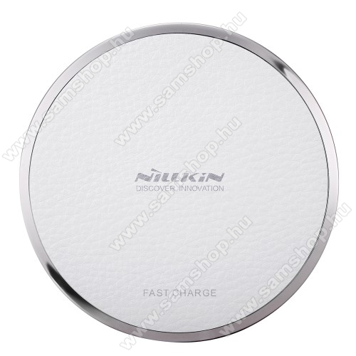 SAMSUNG GT-S7350 Ultra sNILLKIN Magic Disk III - QI Univerzális vezeték nélküli töltő - 5V / 2A, 9V / 1.7A  - FEHÉR