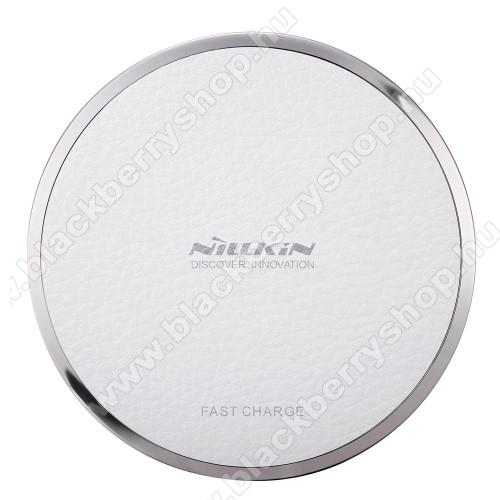 BLACKBERRY 9810 TorchNILLKIN Magic Disk III - QI Univerzális vezeték nélküli töltő - 5V / 2A, 9V / 1.7A  - FEHÉR