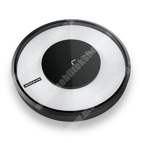 PHILIPS W3568 NILLKIN Magic Disk VI - QI Univerzális vezeték nélküli töltő - 9V / 2A, 5V / 1,7A - FEKETE