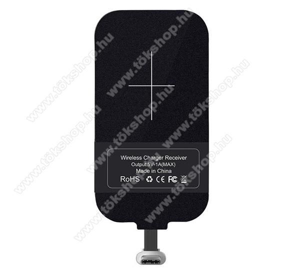 NILLKIN MAGIC TAGS UNIVERZÁLIS QI Wireless modul vezeték nélküli töltéshez - USB 3.1 Type C csatlakozóval (Fogadóegység) - GYÁRI
