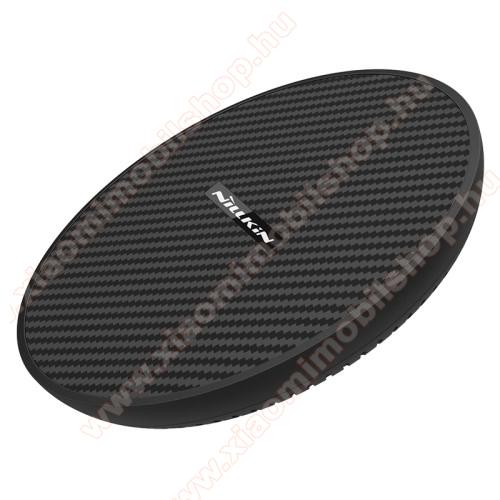 NILLKIN MC035 hálózati töltő állomás (vezeték nélküli töltés, QI Wireless, gyorstöltés támogatás, karbonminta, fogadóegység nélkül!, 15W (Max)) FEKETE - MC035_K - GYÁRI