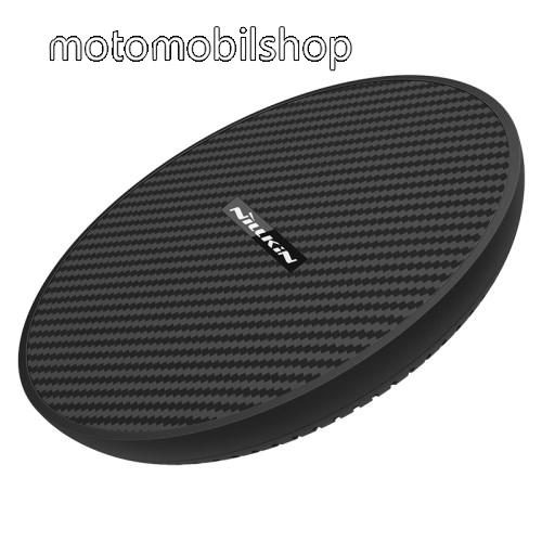 MOTOROLA Moto X Style NILLKIN MC035 hálózati töltő állomás (vezeték nélküli töltés, QI Wireless, gyorstöltés támogatás, karbonminta, fogadóegység nélkül!, 15W (Max)) FEKETE - MC035_K - GYÁRI