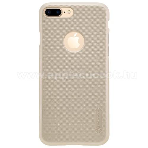 NILLKIN műanyag védő tok / hátlap - ARANY - képernyővédő fólia - APPLE iPhone 7 Plus (5.5) - GYÁRI