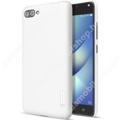 NILLKIN műanyag védő tok / hátlap - FEHÉR - képernyővédő fólia - ASUS Zenfone 4 Max (ZC554KL) / ASUS Zenfone 4 Max Plus (ZC554KL) / ASUS Zenfone 4 Max Pro (ZC554KL) - GYÁRI