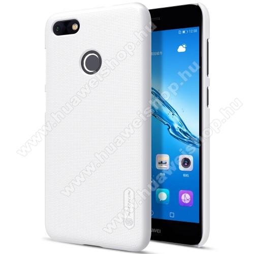NILLKIN műanyag védő tok / hátlap - FEHÉR - képernyővédő fólia - HUAWEI Enjoy 7 / HUAWEI Y6 Pro (2017) / HUAWEI P9 lite mini - GYÁRI