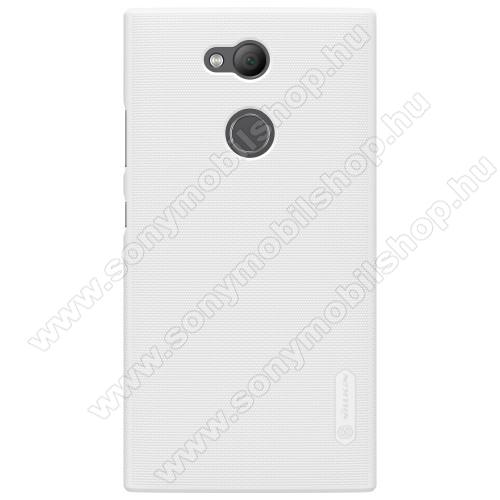 NILLKIN műanyag védő tok / hátlap - FEHÉR - képernyővédő fólia - Sony Xperia L2 - GYÁRI