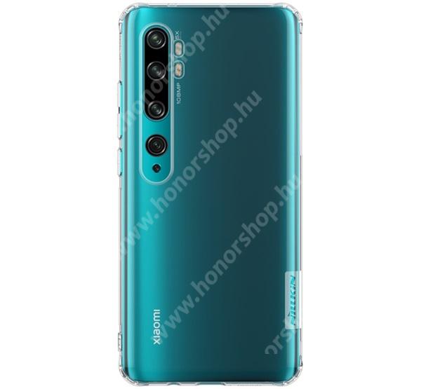 NILLKIN Nature Slim szilikon védő tok / hátlap - 0,6mm, erősített sarkok - ÁTLÁTSZÓ - Xiaomi Mi Note 10 / Xiaomi Mi Note 10 Pro / Xiaomi Mi CC9 Pro - GYÁRI