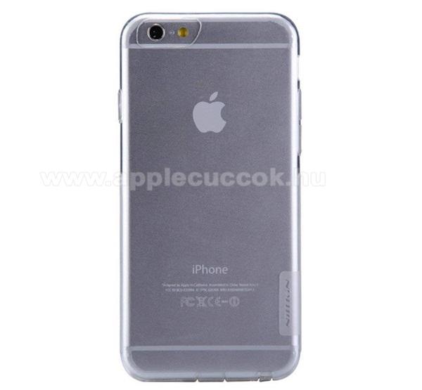 NILLKIN Nature Slim szilikon védő tok / hátlap - 0,6mm - ÁTLÁTSZÓ - APPLE iPhone 6 Plus / APPLE iPhone 6s Plus - GYÁRI