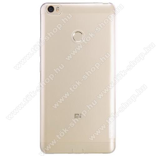 NILLKIN Nature Slim szilikon védő tok / hátlap - 0,6mm - ÁTLÁTSZÓ - Xiaomi Mi Max - GYÁRI