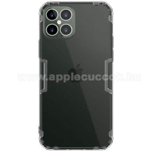 APPLE iPhone 12 Pro MaxNILLKIN Nature szilikon védő tok / hátlap - ÁTLÁTSZÓ - erősített sarkok, ERŐS VÉDELEM! - APPLE iPhone 12 Pro Max - GYÁRI