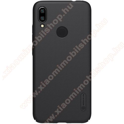 Xiaomi Redmi Note 7NILLKIN SUPER FROSTED műanyag védő tok / hátlap - érdes felület - FEKETE - Xiaomi Redmi Note 7 / Xiaomi Redmi Note 7 Pro / Xiaomi Redmi Note 7S - GYÁRI