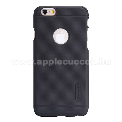 APPLE iPhone 6NILLKIN SUPER FROSTED műanyag védő tok / hátlap - érdes felület - FEKETE - APPLE iPhone 6