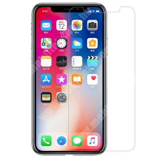 APPLE iPhone XS NILLKIN T+PRO előlap védő karcálló edzett üveg - 0,15 mm vékony, 9H, hátlapvédő fóliával - APPLE iPhone X / APPLE iPhone XS - GYÁRI