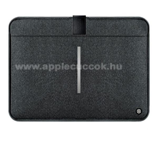 APPLE iPad Pro 12.9 (2017)NILLKIN Tablet / Laptop UNIVERZÁLIS tok / táska - FEKETE - POUCH, Szövet, mágneses, ütődésálló, cseppálló - ERŐS VÉDELEM! - 13