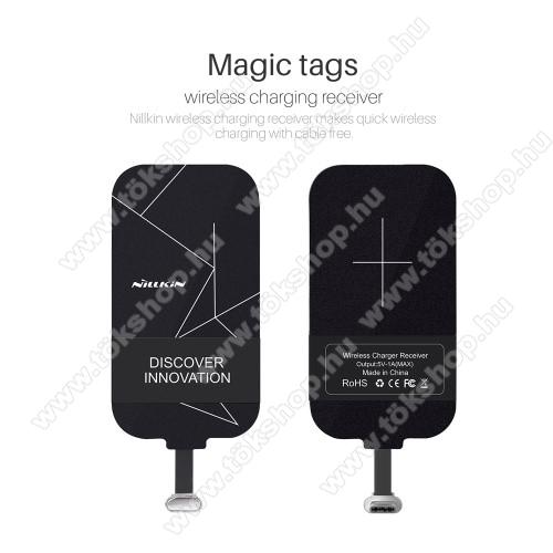 NILLKIN UNIVERZÁLIS QI Wireless modul vezeték nélküli töltéshez - DC 5V 1A(Max) - USB 3.1 Type C csatlakozóval (Fogadóegység) - GYÁRI