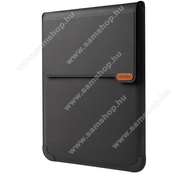 NILLKIN VERSATILE UNIVERZÁLIS 3in1 Tablet / Laptop tok / táska - cseppálló, 15° és 25°-os szögben állítható, asztali tartó, egérpad funkció - FEKETE - 14