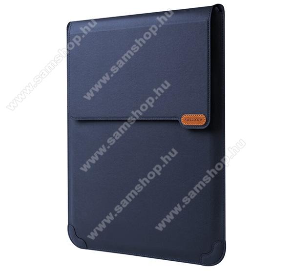 NILLKIN VERSATILE UNIVERZÁLIS 3in1 Tablet / Laptop tok / táska - cseppálló, 15° és 25°-os szögben állítható, asztali tartó, egérpad funkció - KÉK - 14