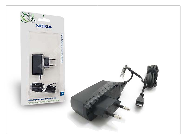 Nokia 6500 classic/7900 prism/8600 Luna/8800 arte gyári hálózati töltő - AC-10E