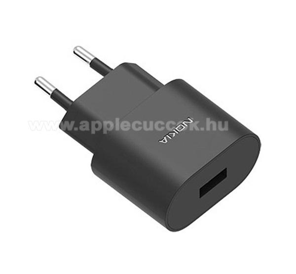 APPLE iPad Pro 12.9 (2018)NOKIA h�l�zati t�lt? USB aljzat (5V / 1000mA, k�bel n�lk�l) FEKETE - AD-5WE - GY�RI