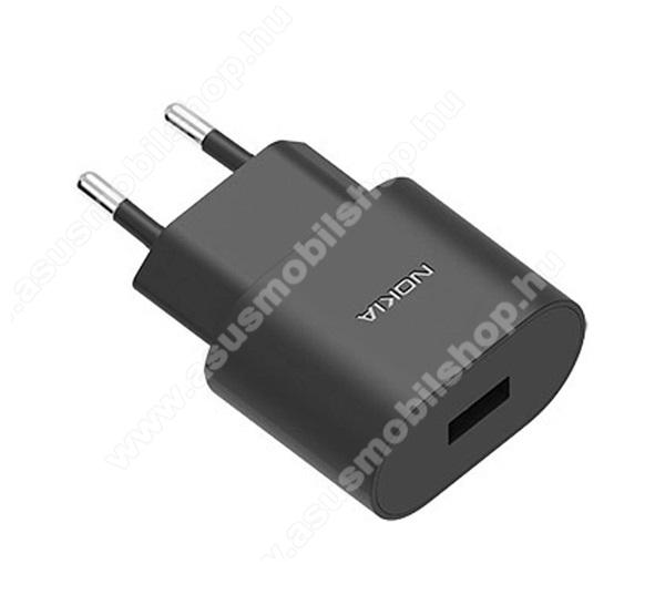ASUS Fonepad 7 (2015) FE375CLNOKIA hálózati töltő USB aljzat (5V / 1000mA, kábel nélkül) FEKETE - AD-5WE - GYÁRI