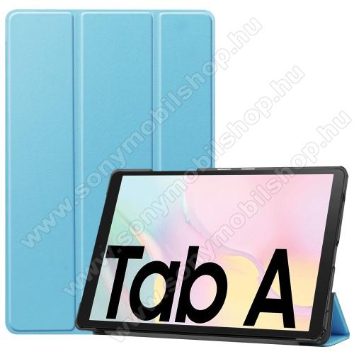 Notesz / mappa tok - BABAKÉK - oldalra nyíló flip cover, TRIFOLD asztali tartó funkciós, mágneses záródás, műanyag belső - SAMSUNG Galaxy Tab A7 10.4 (2020) (SM-T500/SM-T505)