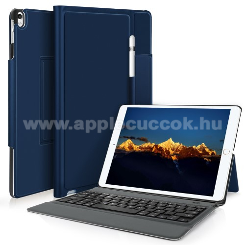 Notesz / mappa tok - K�K - asztali �llv�ny funkci�, be�p�tett bluetooth billenty?zet, ON/OFF funkci�s - APPLE iPad Pro 10.5 (2017)
