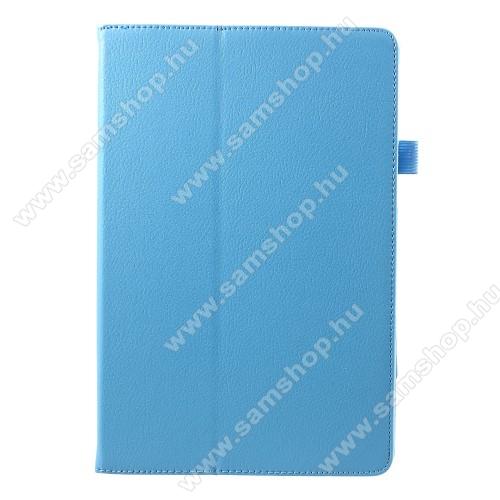 Notesz tok / mappa tok - asztali tartó funkciós, oldalra nyíló - VILÁGOSKÉK - SAMSUNG SM-T830 Galaxy Tab S4 10.5 (Wi-Fi) / SAMSUNG SM-T835 Galaxy Tab S4 10.5 (LTE)