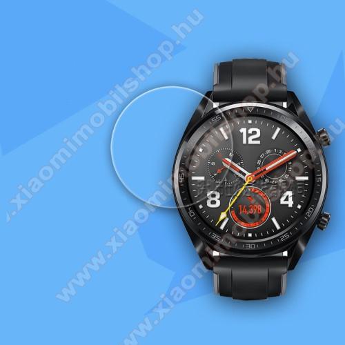 Okosóra előlap védő karcálló edzett üveg - 0.26mm, 9H - HUAWEI Watch GT