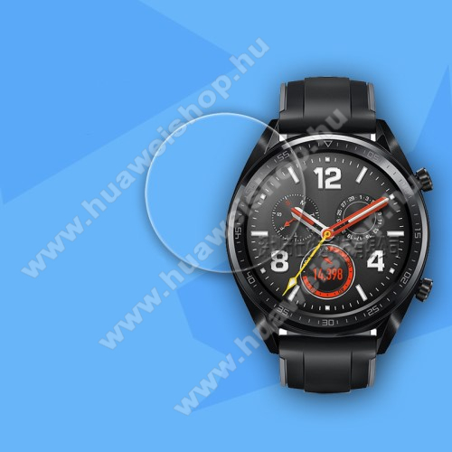 HUAWEI Watch GTOkosóra előlap védő karcálló edzett üveg - 0.26mm, 9H - HUAWEI Watch GT