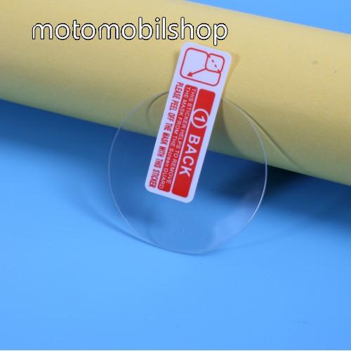 Okosóra előlap védő karcálló edzett üveg - 2db - 0.3mm, 9H, A képernyő sík részét védi - HUAWEI Watch GT 2e