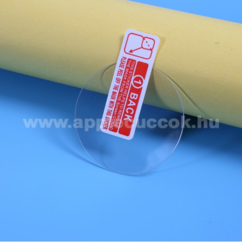 Okosóra előlap védő karcálló edzett üveg - 2db - 0.3mm, 9H, A képernyő sík részét védi - Garmin Forerunner 735 / Forerunner 735XT