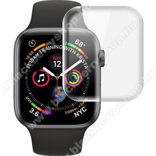 Okosóra IMAK HD Hydrogel Protector képernyővédő fólia - CLEAR - 2db, 0,15 mm - A TELJES ELŐLAPOT VÉDI! - Apple Watch Series 4 44mm / Apple Watch Series 5 44mm - GYÁRI