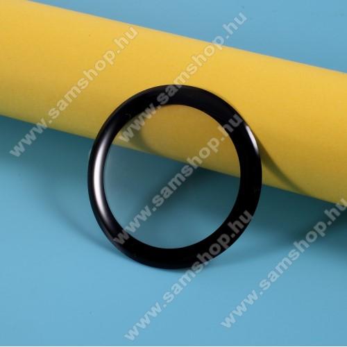 Okosóra képernyővédő fólia - 1db - 3D Curved, A teljes kijelzőt védi! - FEKETE - HUAWEI Watch GT2 42mm