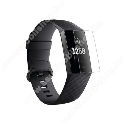 Okosóra képernyővédő fólia - Soft TPU - Anti-explosion - Fitbit Charge 3