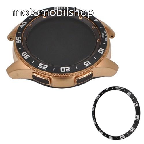 Okosóra lünetta védő alumínium - FEKETE - SAMSUNG Galaxy Watch 42mm
