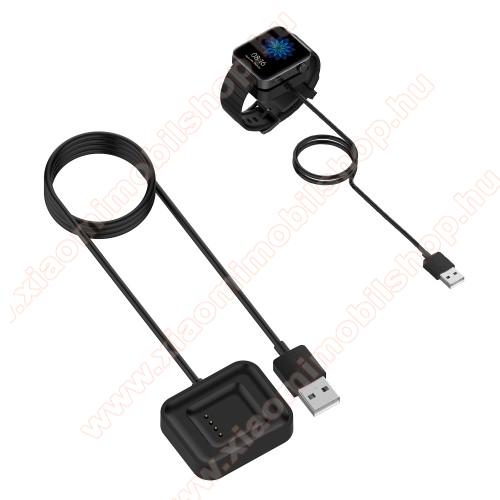 Xiaomi Mi WatchOkosóra mágneses USB töltő - 1m - FEKETE - Xiaomi Mi Watch