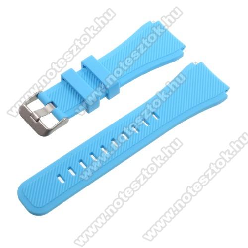 Xiaomi Mi Watch (FOR GLOBAL MARKET)Okosóra szíj - BABAKÉK - szilikon - 90 + 103mm hosszú, 22mm széles - SAMSUNG Galaxy Watch 46mm / SAMSUNG Gear S3 Classic / SAMSUNG Gear S3 Frontier