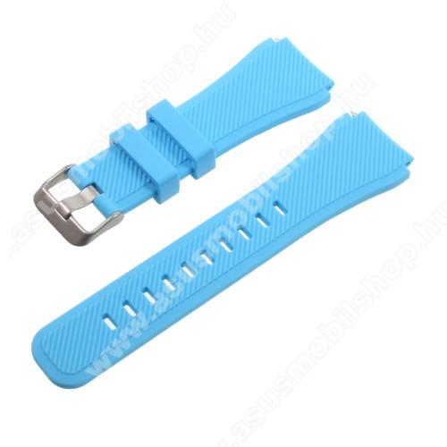 Okosóra szíj - BABAKÉK - szilikon - 90 + 103mm hosszú, 22mm széles - SAMSUNG Galaxy Watch 46mm / SAMSUNG Gear S3 Classic / SAMSUNG Gear S3 Frontier