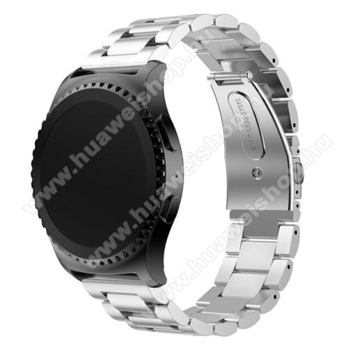 HUAWEI Watch 2Okosóra szíj - EZÜST - rozsdamentes acél, csatos - HUAWEI Watch 2
