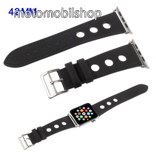 Okosóra szíj - FEKETE - Apple Watch 3/2/1 42mm