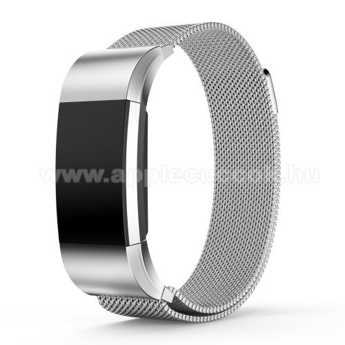 Okos�ra sz�j - rozsdamentes ac�l, m�gneses - EZ�ST - S m�ret, 210mm hossz� - Fitbit Charge 2