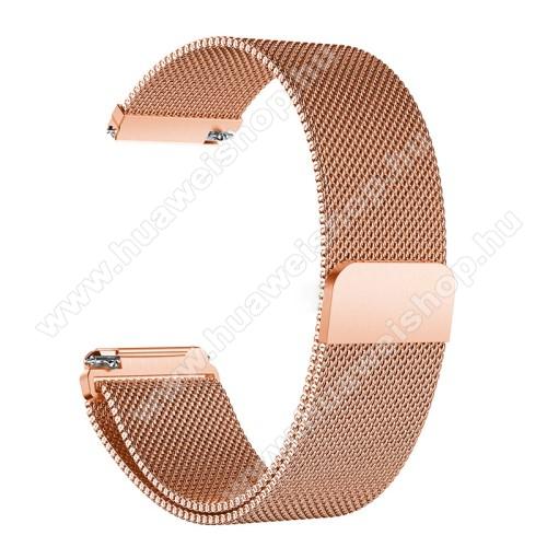 HUAWEI TalkBand B5Okosóra szíj - rozsdamentes acél, mágneses - ROSE GOLD - HUAWEI TalkBand B5