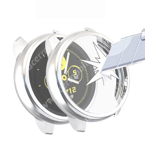 Okosóra szilikontok - A teljes előlapot védi, 360 fokos védelem! - SAMSUNG SM-R500 Galaxy Watch Active