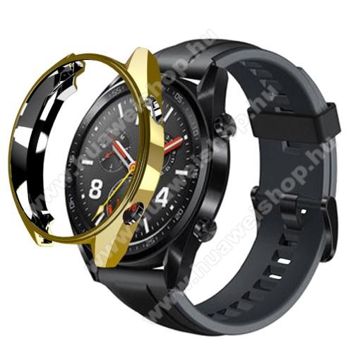 HUAWEI Watch GT 46mmOkosóra szilikontok - ARANY - HUAWEI Watch GT