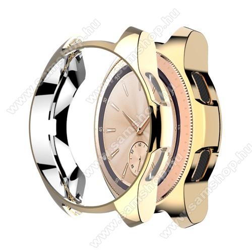 SAMSUNG Galaxy Watch 46mm (SM-R800NZ)Okosóra szilikontok - ARANY - SAMSUNG Galaxy Watch 46mm / SAMSUNG Gear S3 Frontier