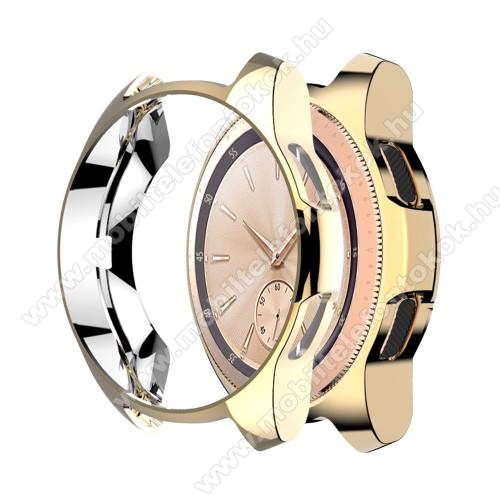 Okosóra szilikontok - ARANY - SAMSUNG Galaxy Watch 46mm / SAMSUNG Gear S3 Frontier