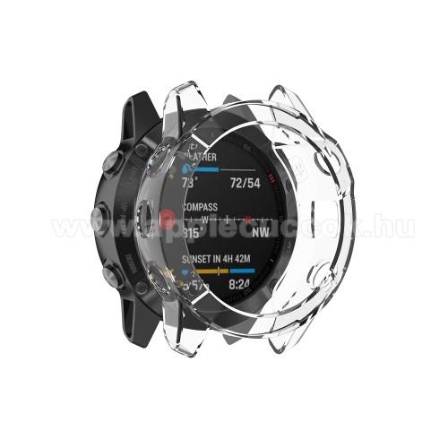 Okosóra szilikontok - ÁTLÁTSZÓ - Garmin Fenix 6S / 6s Sapphire / Garmin Fenix 6S Pro