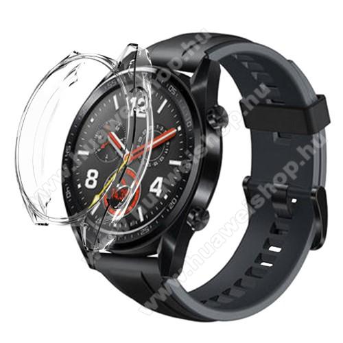 HUAWEI Watch 2 ProOkosóra szilikontok - ÁTLÁTSZÓ - HUAWEI Watch GT